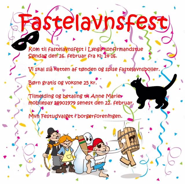 Fastelavnsfest Lyngå