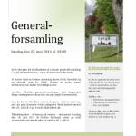 Generalforsamling 2014 - indkaldelse